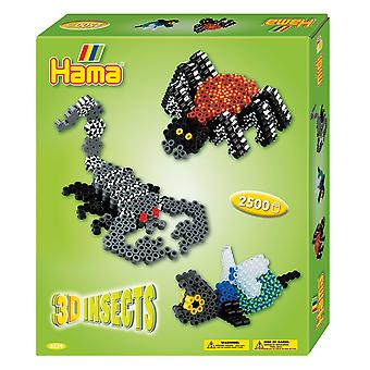 Hama pärlor 3D insekter
