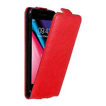 アップルiPhone 7 / 7S / 8 / SE 2020ケースケースカバー用カドラボケース - 磁気留め金付きフリップデザインの電話ケース - ケースカバー保護ケースケースケースケースブック折りたたみスタイル