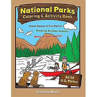 Amerikas Nationalparks Färbung und Aufgabenbuch (nichtstaatlichen)