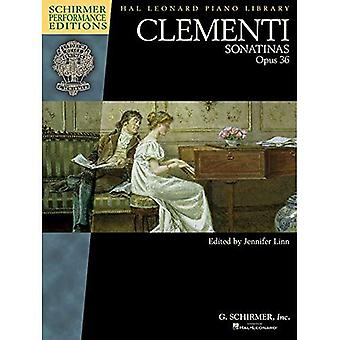 Clementi: Sonatinas, Op. 36 (Schirmer Performance Edition) (Schirmer Performance edities: Hal Leonard Piano Library)