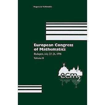 Euroopan kongressi matematiikan Budapest heinäkuu 2226 1996 Volume II Balog & Antal