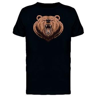 Grizzly Bear Roar Tee Men's -Image by Shutterstock