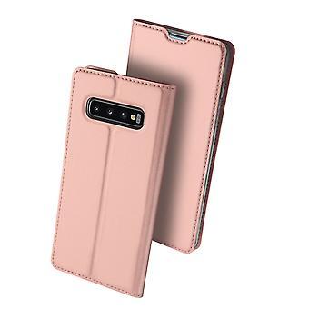 DUX DUCIS Pro Series Case Samsung Galaxy S10-nousi kultaa