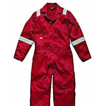 Dickies Herren Hi-Vis Streifen Arbeitskleidung Overall (2 Stück)