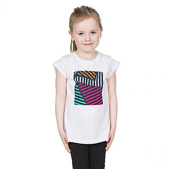 Trespass Girls Linnea Graphic Short Sleeve Cotton T Shirt
