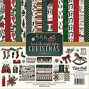Echo Park 'Twas The Night Before Christmas 12x12 Inch Collection Kit Vol. 2