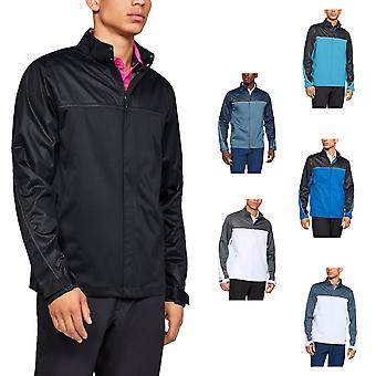 Under Armour mens 2019 UA storm Golf vandtæt regnjakke
