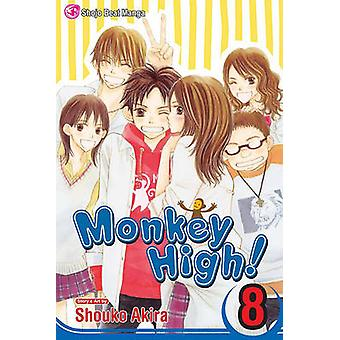 Monkey High! - Volume 8 by Shouko Akira - Shouko Akira - 978142152669