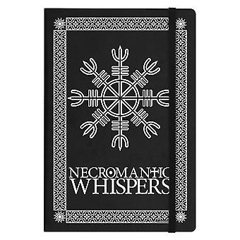 Grindstore Necromantic Whispers A5 Hard Cover Notebook