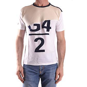 Fake London Genius Ezbc330002 Men's White Cotton T-shirt
