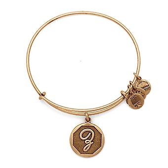 Alex and Ani Initial Z Gold Bangle A13EB14ZG