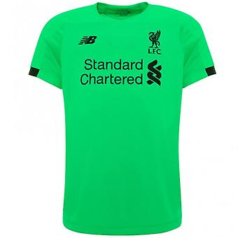 2019-2020 Liverpool Away Short Sleeve Goalkeeper Shirt (Green)