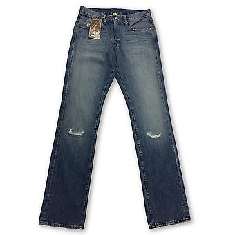Agave Silver Joshua Tree Vintage Denim Jeans in Blue
