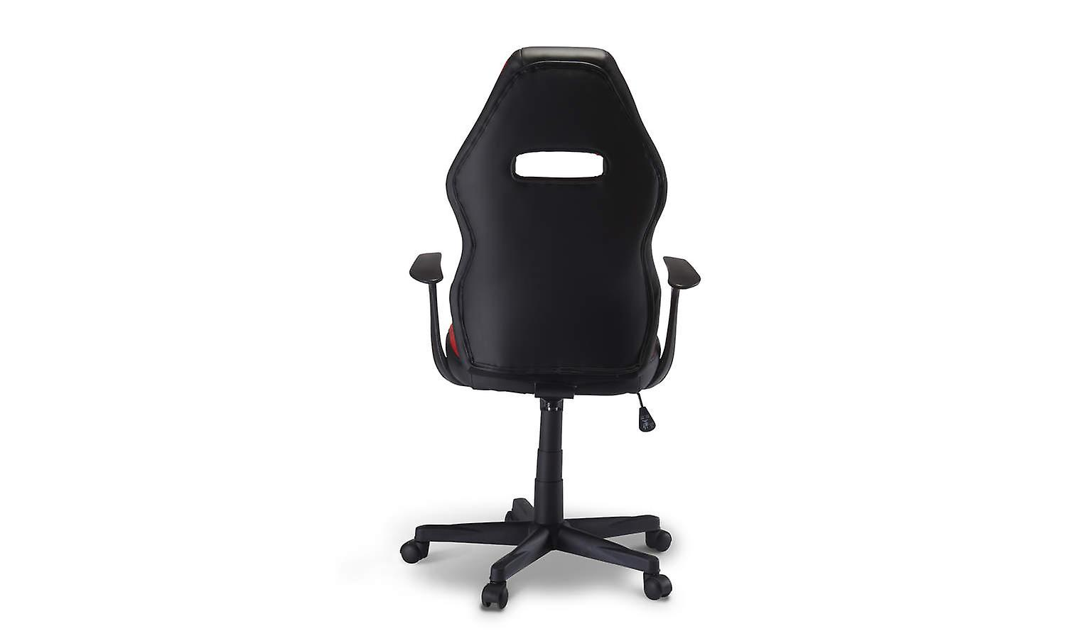 Furnhouse Space Office Chair, Red/Black, 65x65x110-120 cm