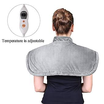 MARNUR Shoulder Heat Pad Wrap Electric Body Warmer with Magnetic Clasp and Adjustable Temperature for Shoulder Back Neck Pain Relief