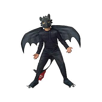 Child Toothless Costume- How to Train Your Dragons's