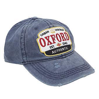 Oxford Unisex Adults Distressed Baseball Cap