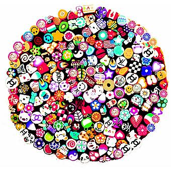 SHANY Nail Art Manicure Canes, Sticks, and Rods Gel Tips - Free Cutter Inside - 200pcs