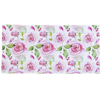 Heine ręcznik domowy frottiertowel ręcznik kąpielowy ręcznik prysznic romantyczny z motywem róż