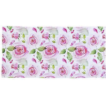 Heine home towel frottiertowel bath towel shower towel romantic with roses motif