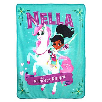 Super Soft Throws - Nella The Princess Knight - Nella Knight New 45x60