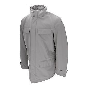 Geox MAN JACKET menns vinter jakke utendørs uten hette lys-grå ny OVP salg