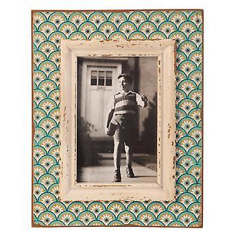 Sass & Belle Boudoir stempel Photo Frame Aqua