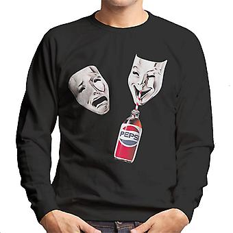 Pepsi Theater Masken Men's Sweatshirt