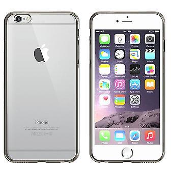 Backcover Clear Bumperlook voor Apple iPhone SE 2020 - 8 - 7 Zwart