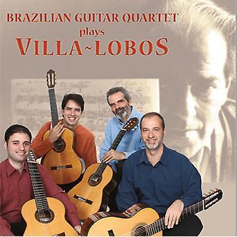 Brazilian Guitar Quartet - Brazilian Guitar Quartet Plays Villa-Lobos [CD] USA import