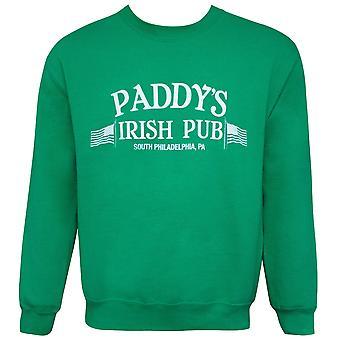 Es ist immer sonnigen grünen Paddys Pub Rundhals Sweatshirt