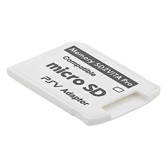 Sd 2 vita v5.0 memory card adapter compatible with sony ps vita 3.6 henkaku firmware - white
