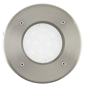 Eglo Lamedo Stainless Steel Recessed Floor Spotlight 100mm