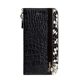 Stijlvolle Folio Black Snake iPhone 8 / 7 / 6 Case