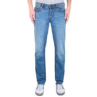 True Religion Geno No Flap Indigo Frost Relaxed Slim Jeans