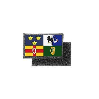 Patch ecusson imprime badge drapeau irlande province irlandais