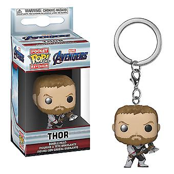 Avengers 4 Endgame Thor Pocket Pop! Keychain
