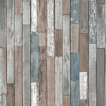 Wood Planks Fond d'écran Fine Décor