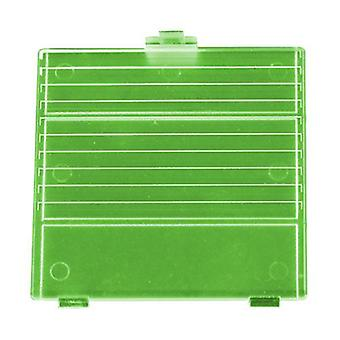 Replacement battery cover door for nintendo game boy dmg-01 - transparent green