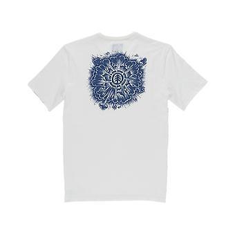 Element Blast Lyhythihainen T-paita luun valkoinen