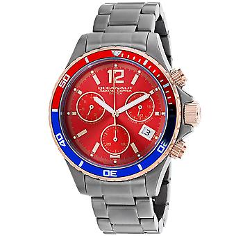 Oceanaut Men-apos;s Baltica Special Edition Red Dial Watch - OC0534
