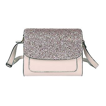 Jewelcity Womens / Ladies Glitter Party Crossbody Bag Jewelcity Womens / Ladies Glitter Party Crossbody Bag