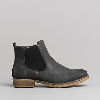 Romika Wendy 04 Ladies Ankle Boots Anthracite