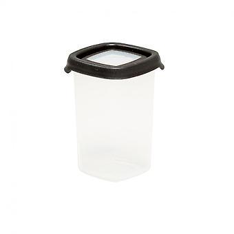 Wham Storage 1.03 Seal It 350ml Tall Square Airtight Plastic Food Box