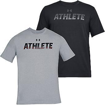 Under Armour Mens UA Athlète à manches courtes Entraînement Gym Sports T-Shirt