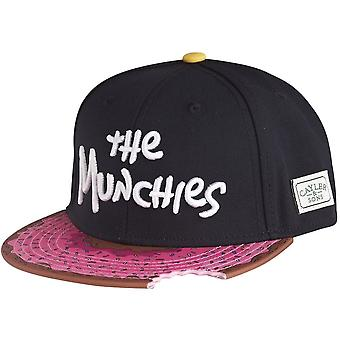 Cayler & sons Snapback Cap - MUNCHIES black