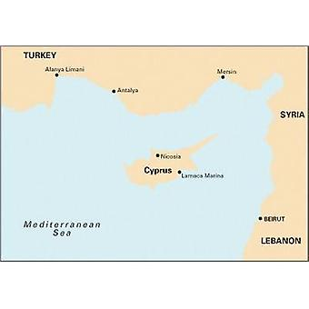 Imray Chart M21  Eastern Mediterranean Passage Chart  South Coast of Turkey Syria Lebanon amp Cyprus by Imray