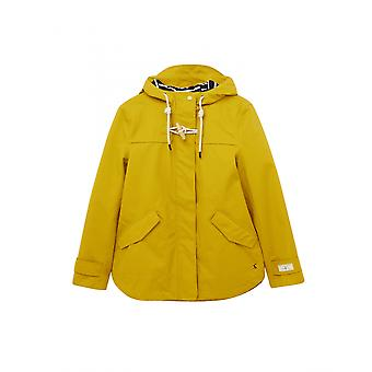 Joules New Coast Womens Waterproof Jacket - Antique Gold