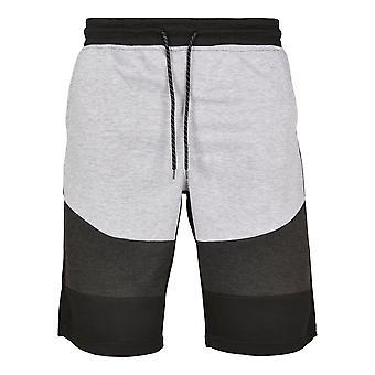 Southpole Men's Sweatshorts Color Block Tech Fleece
