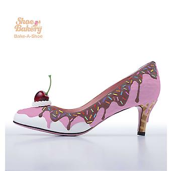 Baked and Ready Strawberry Ice Cream Shoe